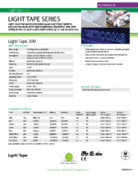 Datasheet – Light Tape Series