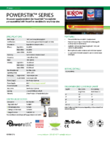 Datasheet – Powerstik Series