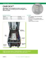 Datasheet – Qwik Box