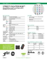 Datasheet – Street Fighter RGB