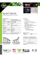 Datasheet – Tap Out Stik 24V