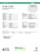 Datasheet – Threaded Universal 60W Power Supply