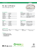 Datasheet – Universal 36W Power Supply