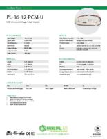 Datasheet – Universal 36W Power Supply