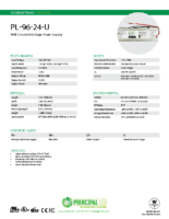 Datasheet – Universal 96W Power Supply