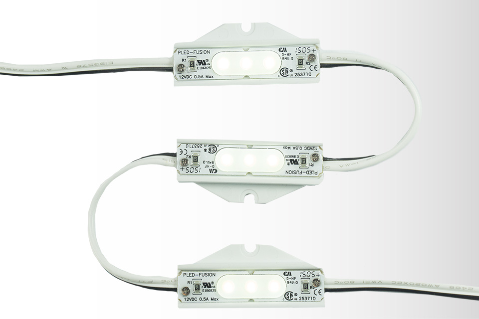 Fusion 4- LED Channel Lighting