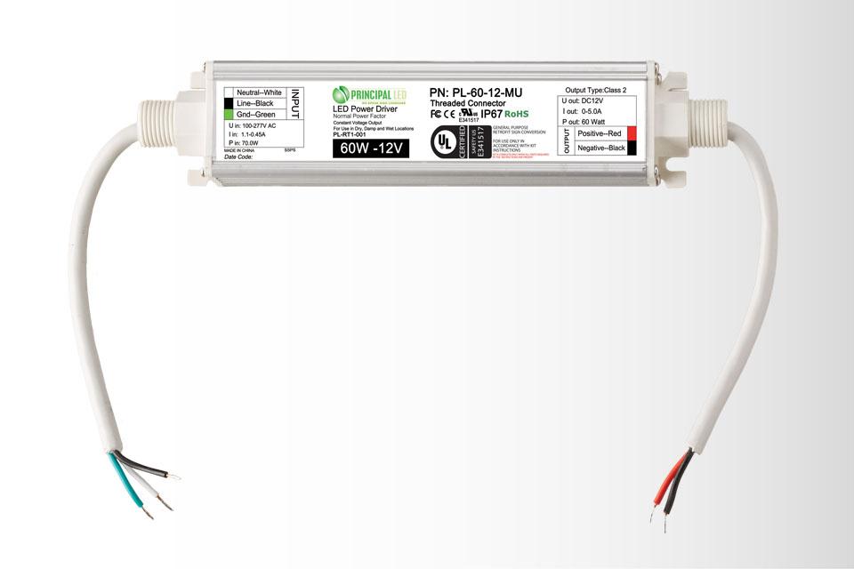Universal 60W Threaded- LED Power Supply